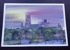 POSTCARD: (PLU194): ELY CATHEDRAL FROM THE RIVER GREAT OUSE
