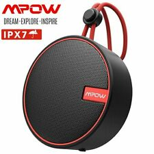Mpow Q2 Dusche Lautsprecher Bluetooth 5.0 IPX7 Audio Soundbox Stereo Subwoofer