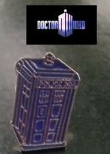 The Tardis Dr Doctor Who Science Fiction Bbc Tv Series Police Box - Enamel Pin