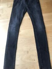 Topman Super Spray Jeans, Black, size 32/34 BRAND NEW TAGGED
