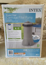 New listing Intex 1000 Gph Easy Set Above Ground Swimming Pool Filter Pump - New In Hand