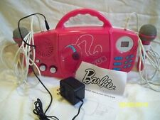 Used Barbie Glamtastic sing along CD player BB21000 (with 2 microphones)