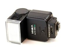 Minolta Auto 360PX Flash fits Contax G Cameras Minolta CLE Minolta X700 TTL AC