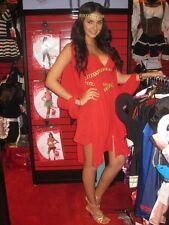 Goddess In Red Costume Greek Roman Grecian Dress + Headpiece Adult Xs Small 0 2