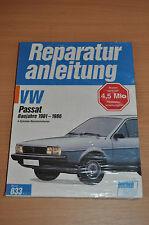 VW Passat 4 Zyl Benziner 1981- 1986 Reparaturanleitung B833 Handbuch Bucheli neu