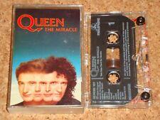 QUEEN - The Miracle - cassette tape album