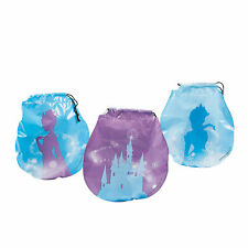 Winter Princess Drawstring Goody Bags - Party Supplies - 72 Pieces