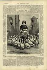 1876 Michaelmas Geese The Last Meal Artwork A Laby