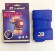 neoprene patella  elastic knee support, brace fastener, gym sport