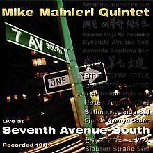 Live at Seventh Avenue von Mainieri Quintet   CD   Zustand sehr gut