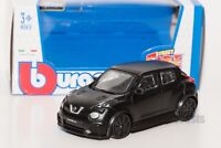 Nissan Juke R Matt Black, Bburago 18-30136, scale 1:43, toy car model gift boy