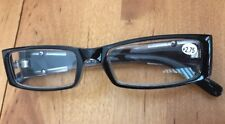 Women's Reading Glasses +2.75 Black Frame With Case (CC)