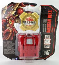 Bakugan Gundalian Invaders Deka Jetkor Rojo Pryus BattleGear con 1 Moneda De Batalla Nuevo