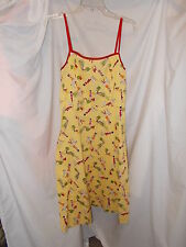 "NEW AGB Dress Byer California Stretch Cotton Print ""Spring Pop"" Size 8"