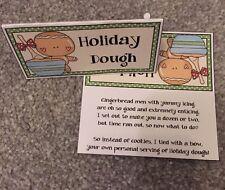 Holiday Dough  novelty Gag Topper Christmas  Gift Stocking Filler