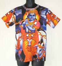 Floaty Tie Dye Kaftan Top * Fair Trade * Siesta * BNWoT * Rainbow Boho Hippy