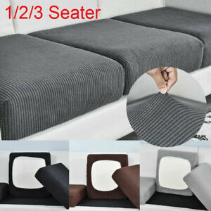 1/2/3Seater Sofa Seat Covers Couch Slipcover Cushion Elastic Settee Protector