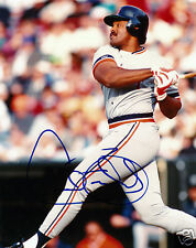 CECIL FIELDER Autographed 8x10 Colour Photo w/COA DETROIT TIGERS MLB Superstar