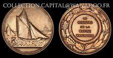 Médaille Marine Marchande Le Ministre de la Marine Bronze Arthus Bertrannd