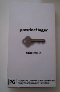POWDERFINGER TAKE ME IN VHS 5 TRACK 1997 POLYDOR RECORDS