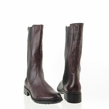 Women's Hunter Darby Shoes Purple Leather Calf Boots Size 6.5 M NEW! RTL $350