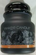 Yankee Candle SWEET SEDUCTION Medium Jar 14.5 Oz Black Glass Halloween New Wax
