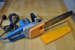 Vintage Makita Electric Corded 335mm Chain Saw 5014B 1300 W  Made in Japan