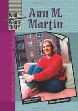 Ann M  Martin  Who Wrote That