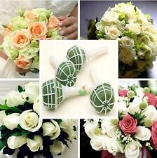 2016 1X Foam Bouquet Holder Handle Bridal Floral Wedding Flower DIY Decoration