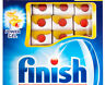 Finish Quantum Powerball Dishwashing Tabs Lemon 45pk (819g )