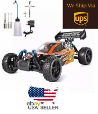 RC Car 1:10 Scale 4wd Off Road Buggy Nitro Gas Remote Control Truck Toy Full Kit
