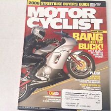 Motor Cyclist Magazine Ninja 650R Honda CBR March 2006 061417nonrh