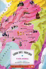 ALBUM FIGURINE GIRO DEL MONDO COMPLETO TAILANDIA