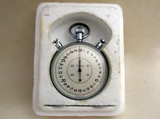 SLAVA With BOX USSR Vintage Big Mechanical Split Chronometer Stopwatch