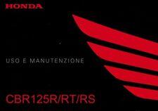 HONDA CBR cbr125 cbr125r jc50 lessivée e manutenzione/italiano