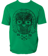 DIAMOND EYES t shirt SKULL MEXICAN RETRO CAR MOTORCYCLE CREW mens t-shirt tee