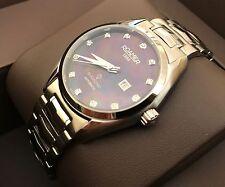 Roamer Searock Swiss Watch (Mother Of Pearl Dial & Diamonds Numbers)