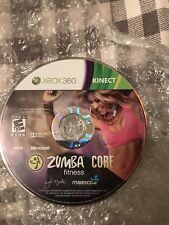 Zumba Fitness (Microsoft Xbox 360, 2010 join the party and core and a kinect sen