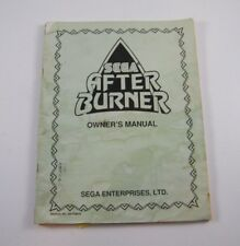 SEGA AFTER BURNER OWNERS MANUAL, 420-5798-01
