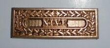 Peninsular War Army Gold Medal Campaign Ribbon Bar Wellington Nive Battle Spain