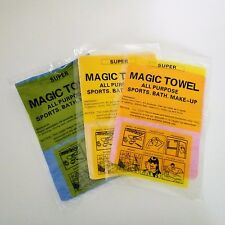 3X Cleaning Cloth Magic Towel Drying Multi Purpose Chamois Absorbent Reusable