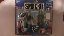 WWF Smack Down Tron Ready Undertaker & Big Show From Jakks Pacific 1999 NEW t577