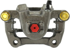 Disc Brake Caliper-Premium Semi-Loaded Caliper Housing &amp Bracket Rear Left