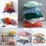 Pom Pom Cushion Cover Knitted Thread Tassel Pillow Case Sofa Bed Car Home Decor
