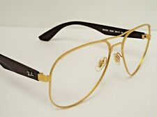 Authentic Ray-Ban RB 3523 112/2Y Brown Gold Aviator Sunglasses Frame Only $205