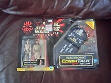 Star Wars Electronic CommTalk lector figuras y x2 1999