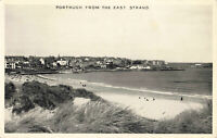 Real Photo Postcard - Portrush From The East Strand - Antrim, Northern Ireland.