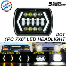 "105W H6054 7X6"" 5X7"" LED Headlight Hi-Lo Beam DRL For Plym Pontiac Oldsmobile"