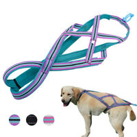 Dog Sledding Harness Reflective Large Dog Weight Pulling Harness for Training