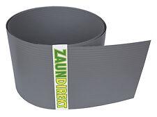 Premium Hart PVC Sichtschutz Streifen RAL 7030 Steingrau Windschutz (1,35 mm)